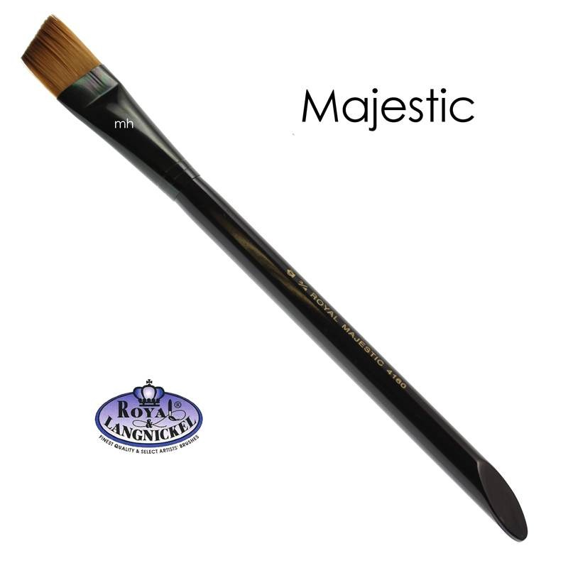 The Majestic Angular Brush from Royal and Langnickel 3/4""