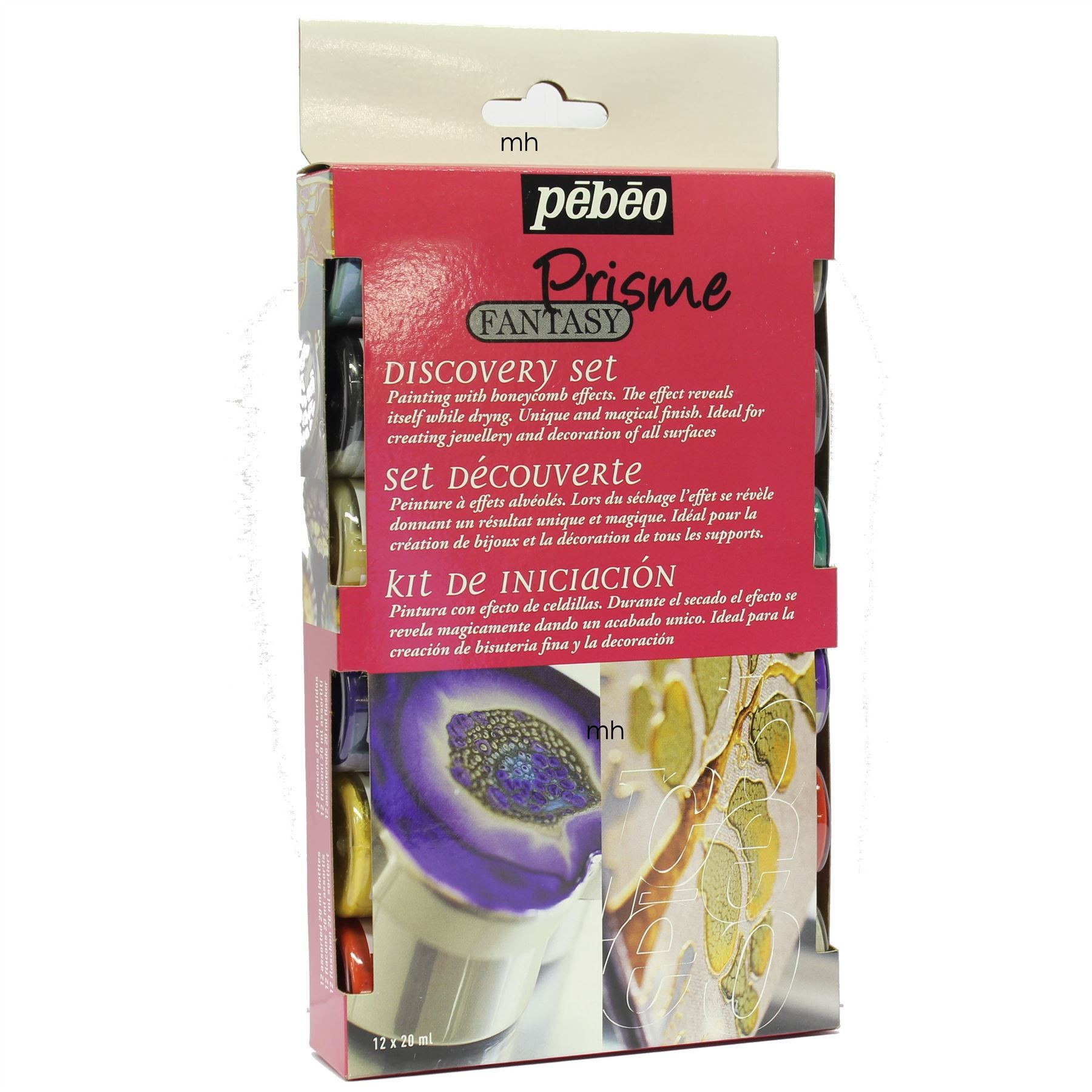 Pebeo Discovery Set 12x 20ml Prisme Fantasy Painting Effects
