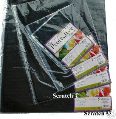 A2 5pc Additional Sleeves for Binder Portfolios
