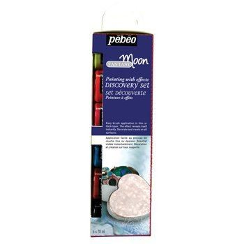 Pebeo Fantasy Moon paint set 6 pots
