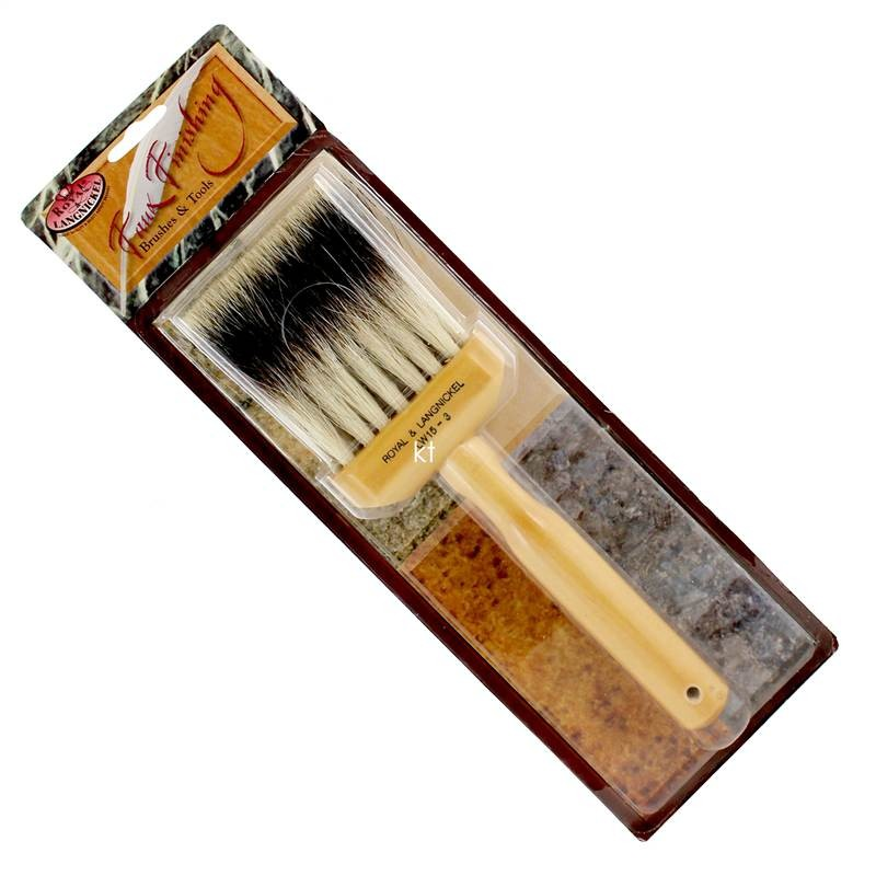 Royal langnickel 3 inch glazes faux finishing brushes for Faux painting brushes