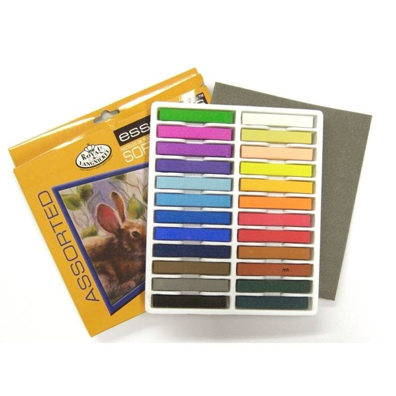 Royal & Langnickel artists material  24 Soft Pastel Set