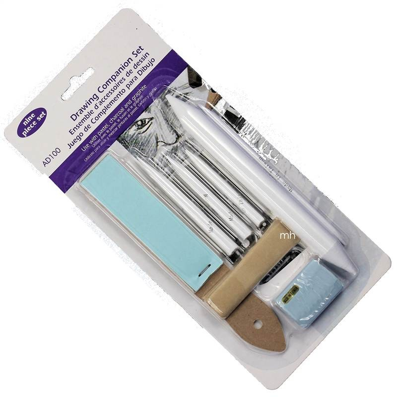 Drawing Companion Set - 9 Pieces