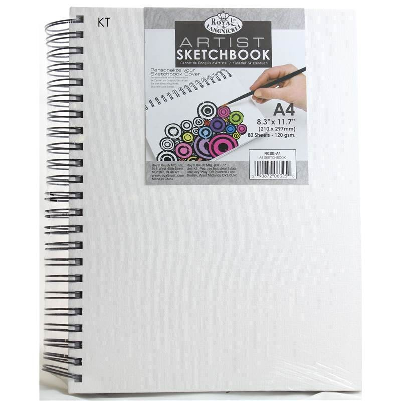 Royal and Langnickel Artists Canvas Sketchbook A4