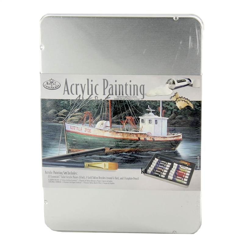 Royal and Langnickel Acrylic Paint Art Set