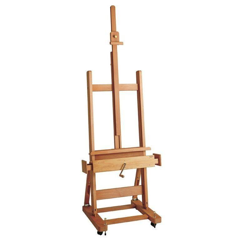 Mabef Wooden Studio Easel with Crank M/04