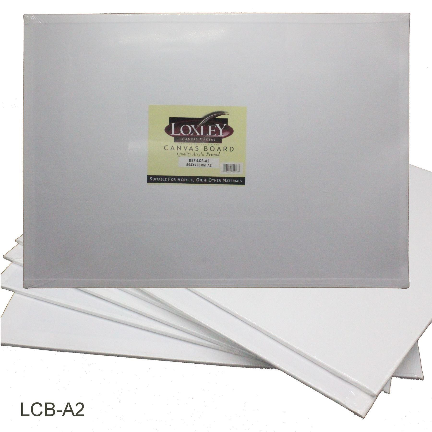 Quality Primed acrylic canvas from Loxley - A2