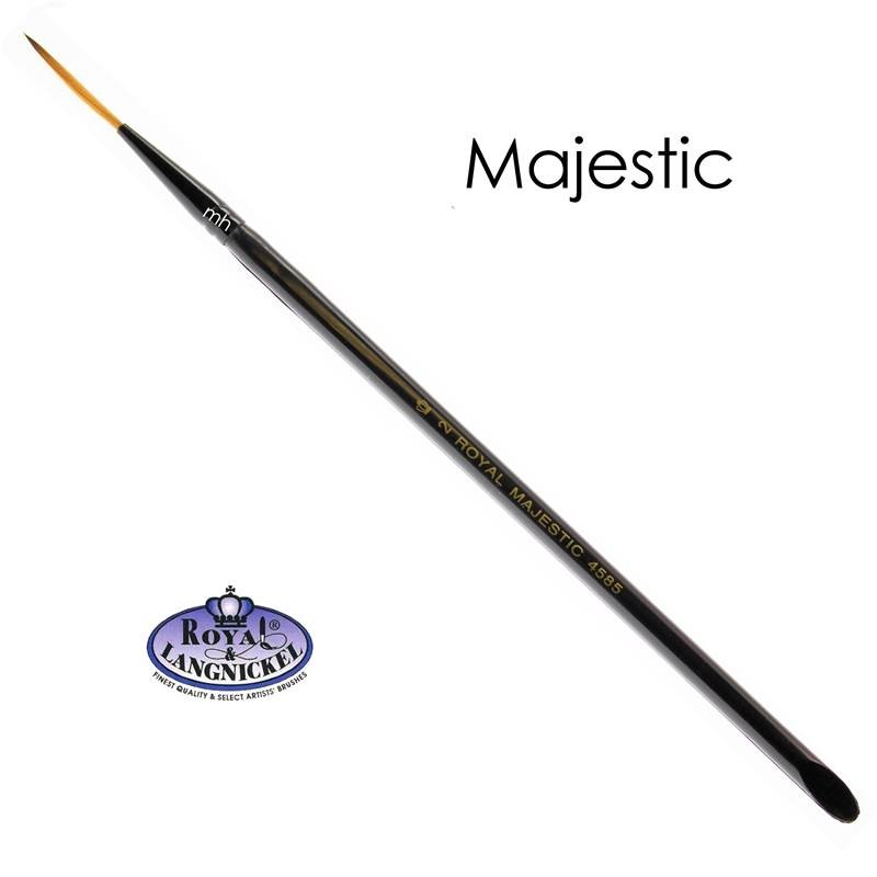 Majestic #2 Script brush from Royal and Langnickel