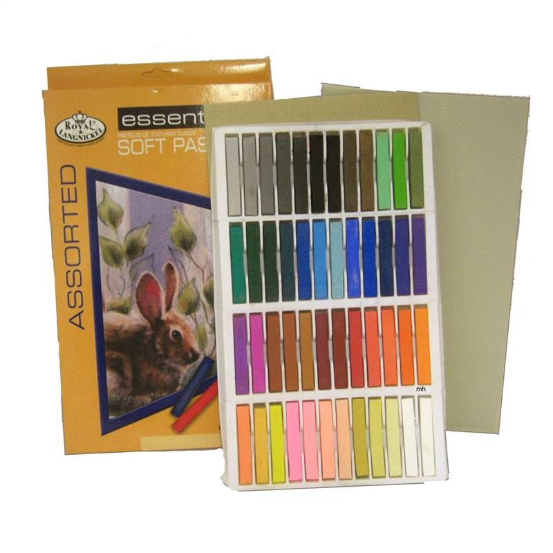 CPA-A48Royal and Langnickel 48 soft pastels