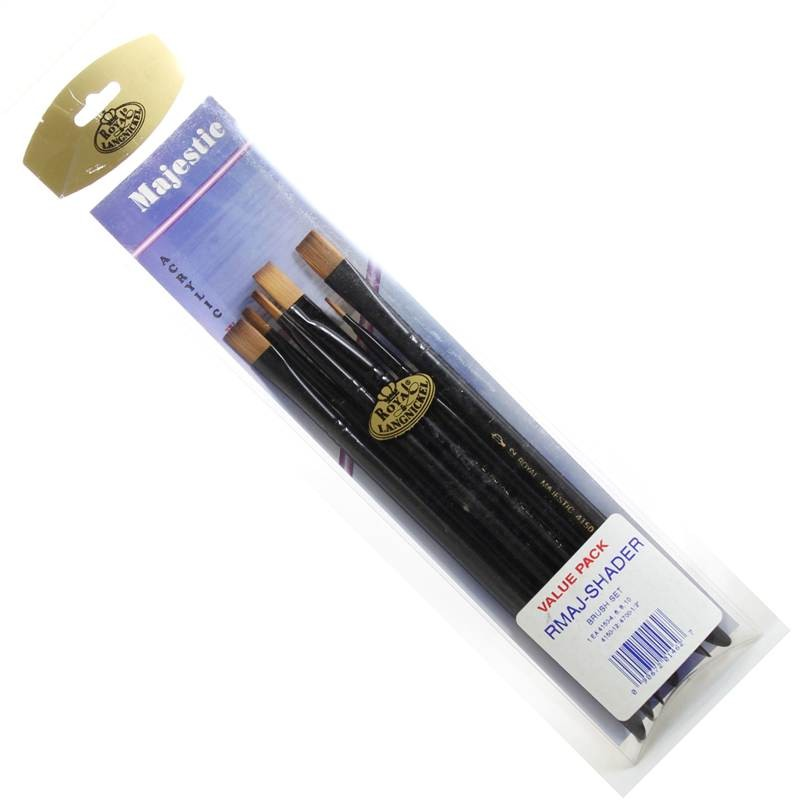 Acrylic and Watercolour Shader Brushes from Royal and Langnickel