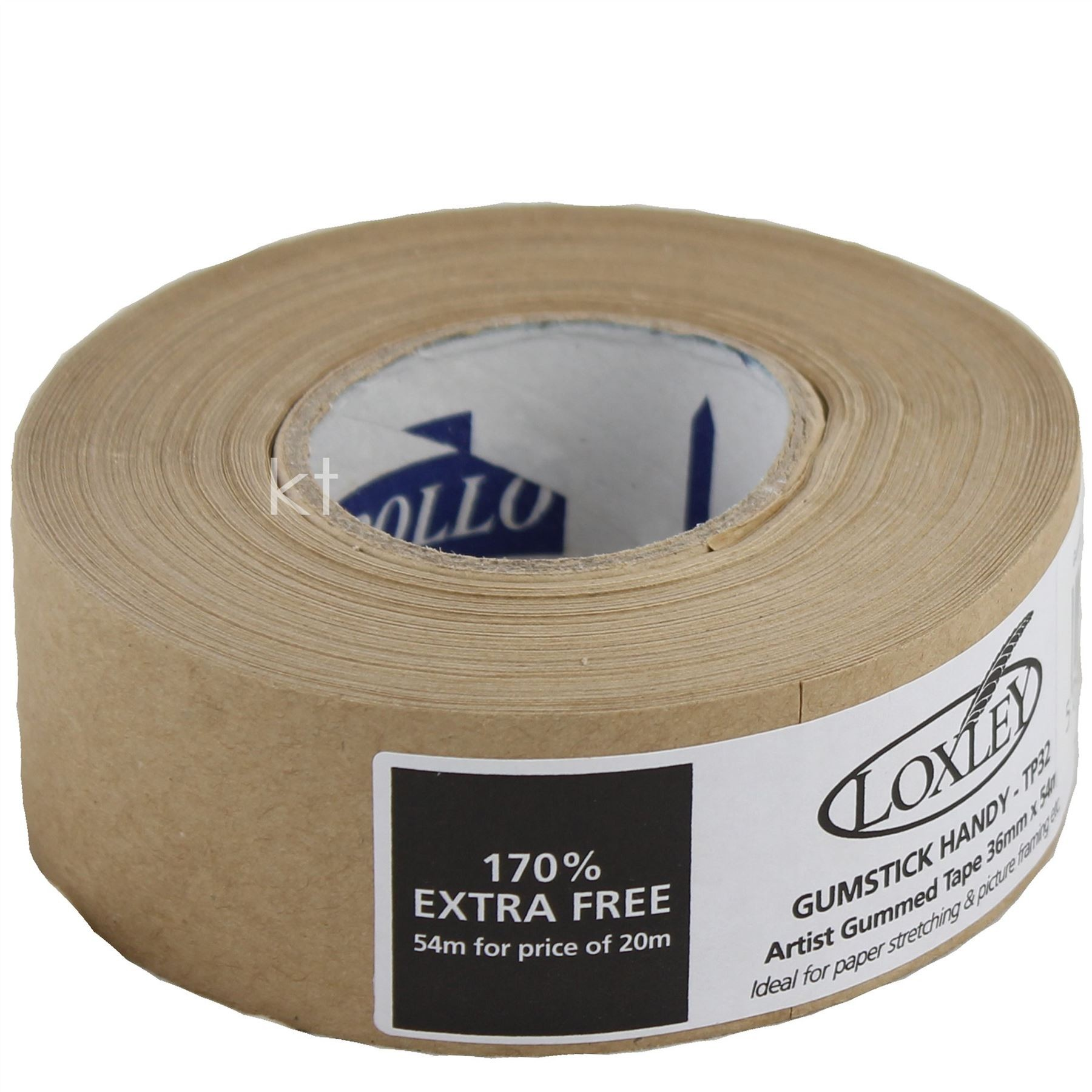Loxley gummed tape 36mm x 50m