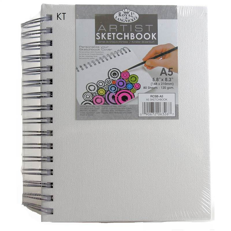 Royal and Langnickel Artists Canvas Sketchbook A5