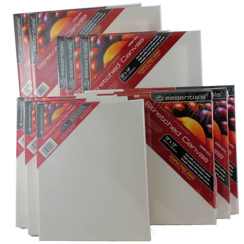 12 Standard Canvas Set from Royal and Langnickel