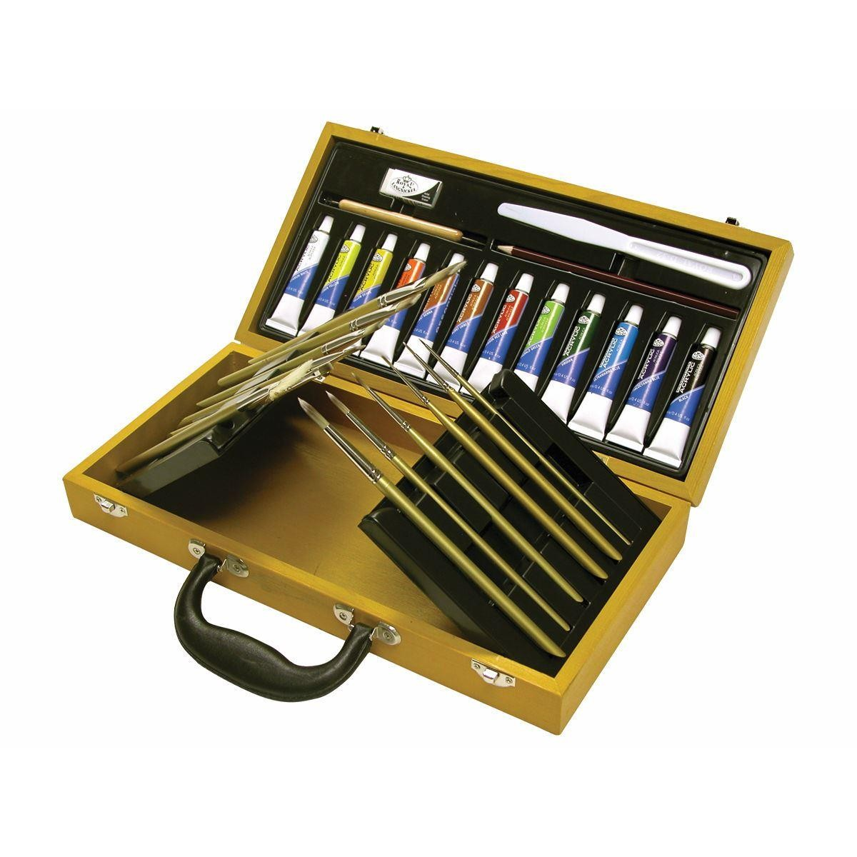 Royal & Langnickel Acrylic Fussion Brush Gift Set