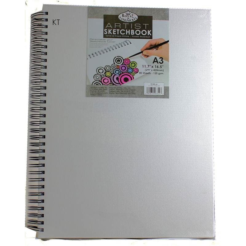 Royal and Langnickel Artists Canvas Sketchbook A3