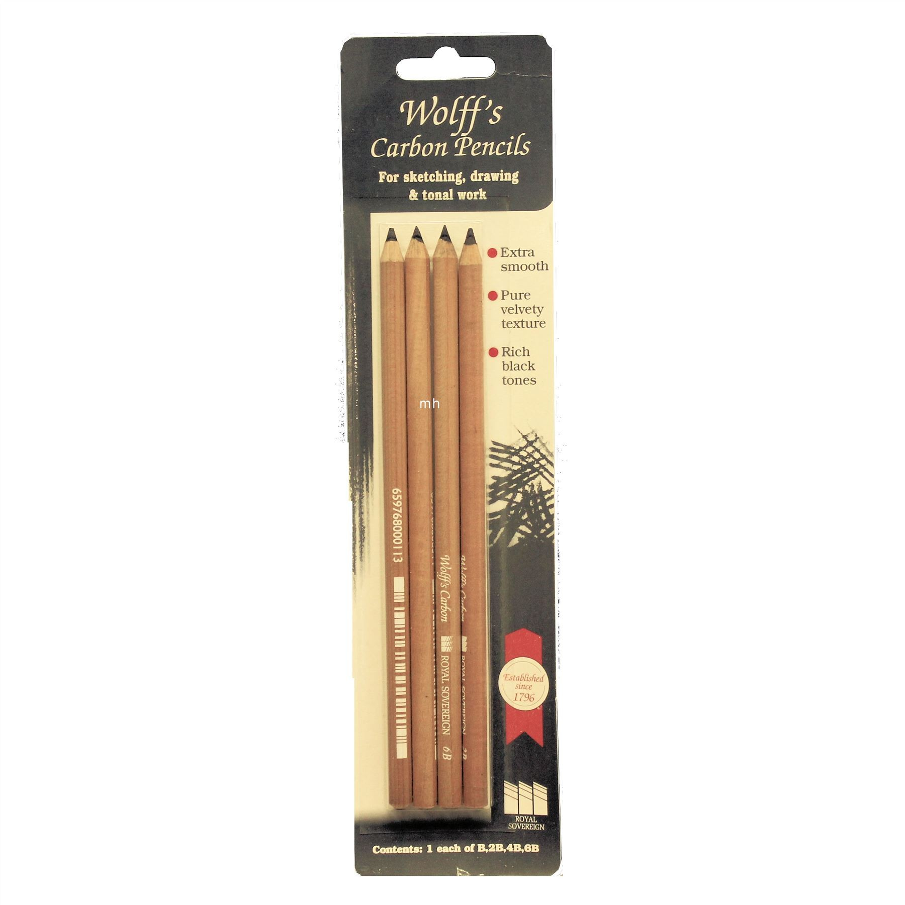 Wolff's Graded Carbon Pencils