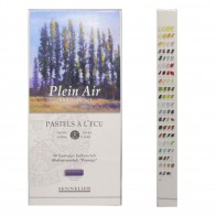 Sennelier 80 Assorted Extra Soft Half Pastels