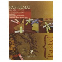 """Clairefontaine Pastelmat Pad 4 Shades 360g 18""""x24"""" 12 Sheets"""