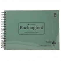 Rk Burt bockingford watercolor spirl bound painting pad