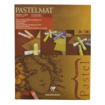 """Clairefontaine Pastelmat Pad 4 Shades 360g 24""""x30"""" 12 Sheets"""