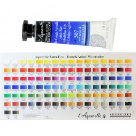 Sennelier French Artists Watercolour paints 10ml tubes honey based. buy 2 get 3rd half price