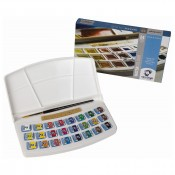 Van Gogh Water colour Set 20HP8624 24 half pans travel set