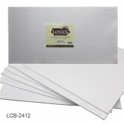 "Double Primed Acrylic Canvas Board from Loxley 24"" x 12"