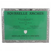 Aquarelle Arches Watercolour Block Cold Pressed - 20 Sheets - 26x36cm