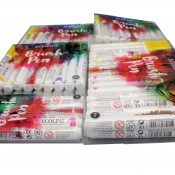 Royal Talens Ecoline Watercolour Brush Pens, 5, 10, 15, 20 or 30