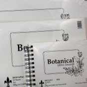 RKB Botanical Ultra Smooth 50% Cotton Watercolour Paper Pads