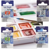 Roayl Talens Van Gogh Watercolour paint pan Single