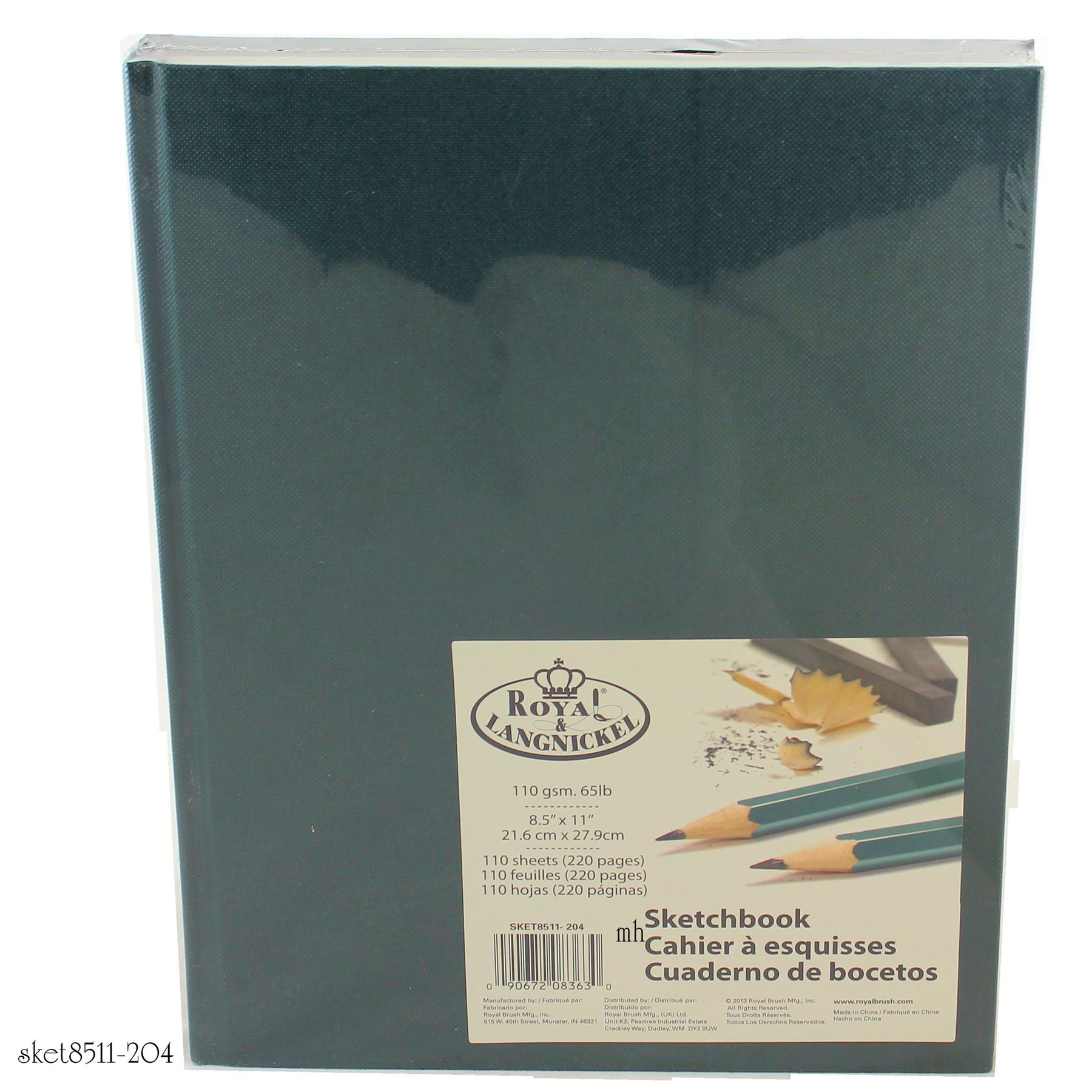 Classic coloured cover SKET8511-200'S Royal & Langnickel drawing pad
