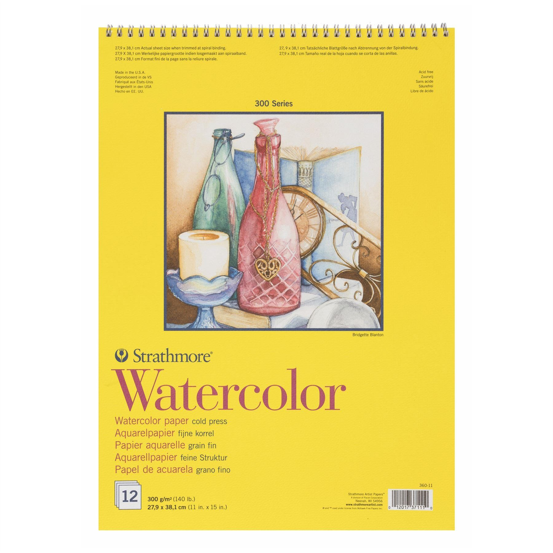 300 series watercolour is an economic of heavyweight student grade paper