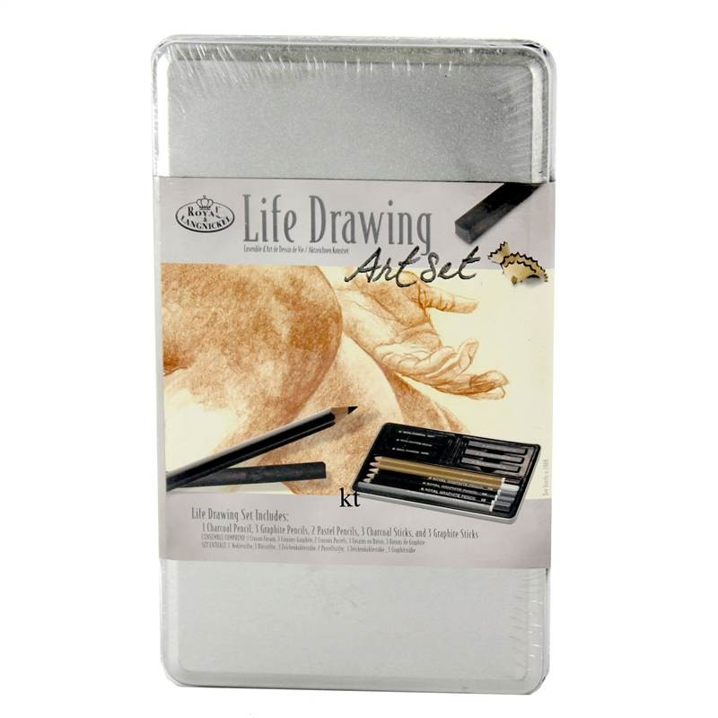 Royal & Langnickel Life Drawing Set Tin - Small Size