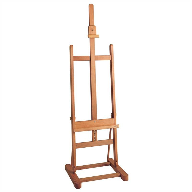 mabef wooden studio easel h frame quality m/10