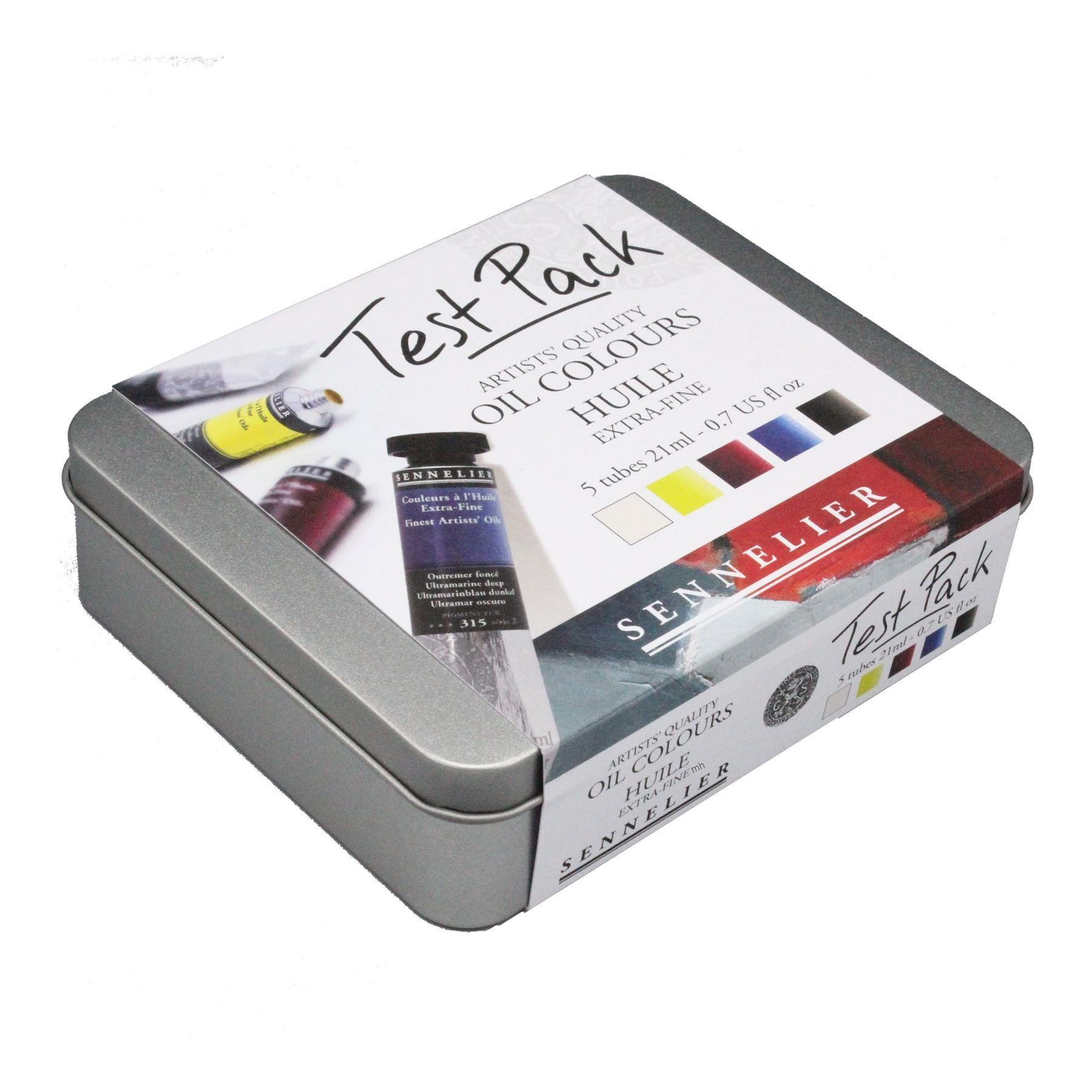 Sennelier Artist Oil Colour Paint Test Pack 21ml tubes
