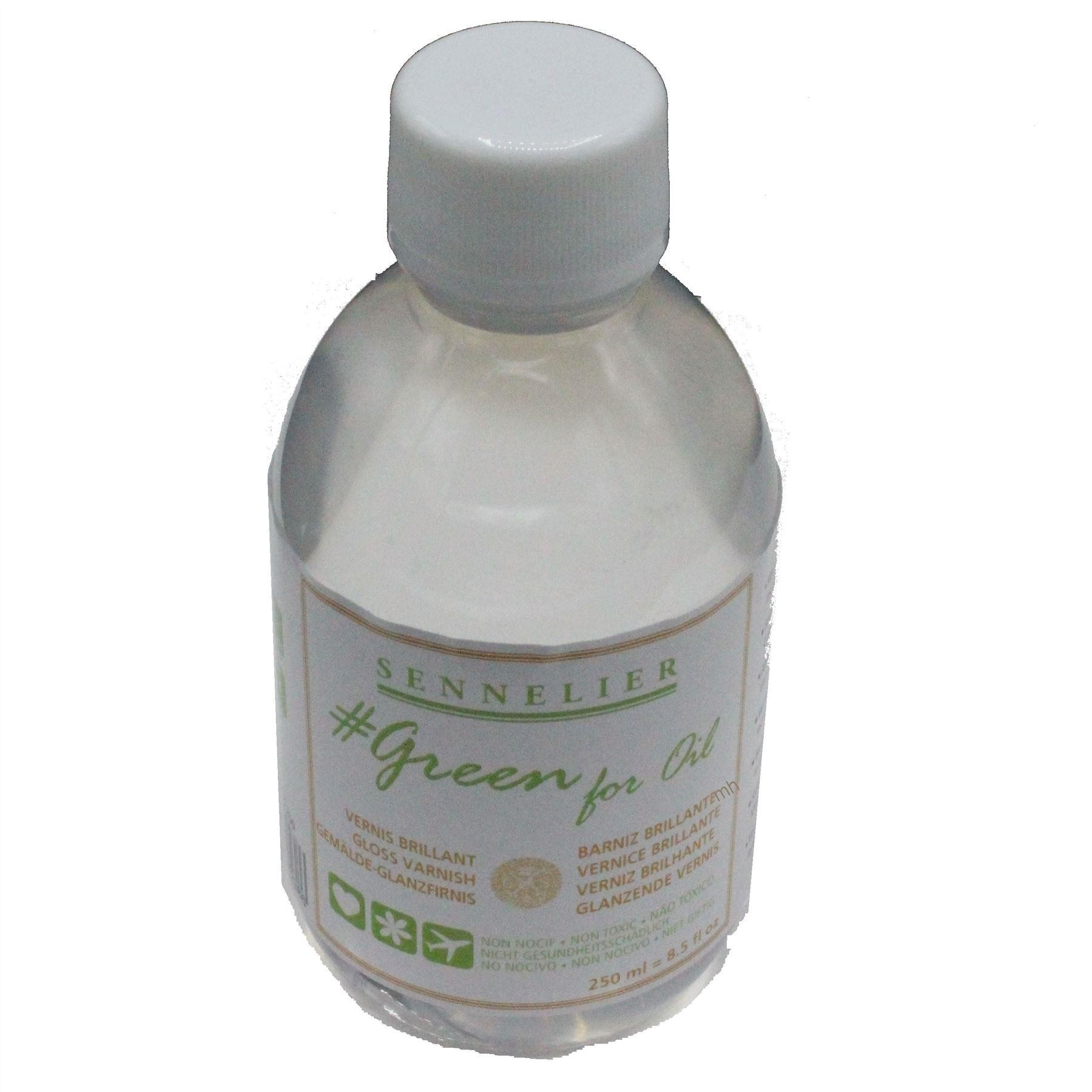 Sennelier Green for oil 250ml Gloss Varnish