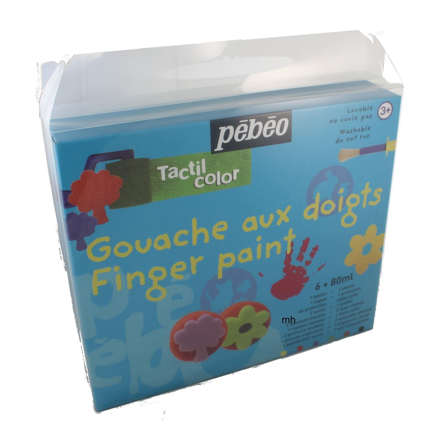 Pebeo Kids Finger painting set