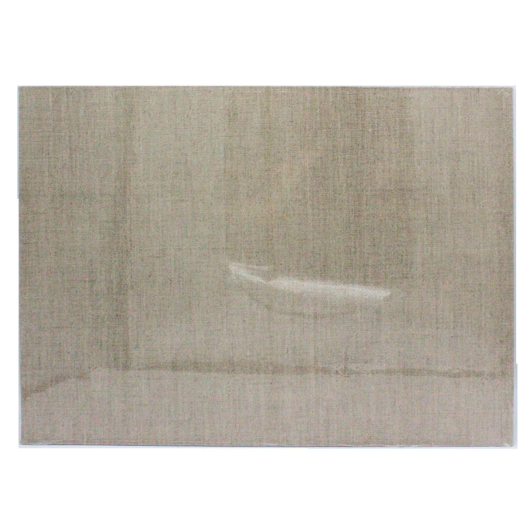 loxley artists lined panel natural linen board 7 x 5
