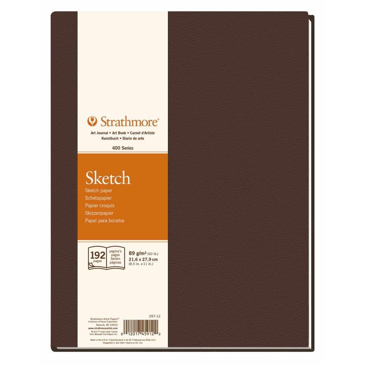 Sketch paper hardback book artist Journal Strathmore 400 series