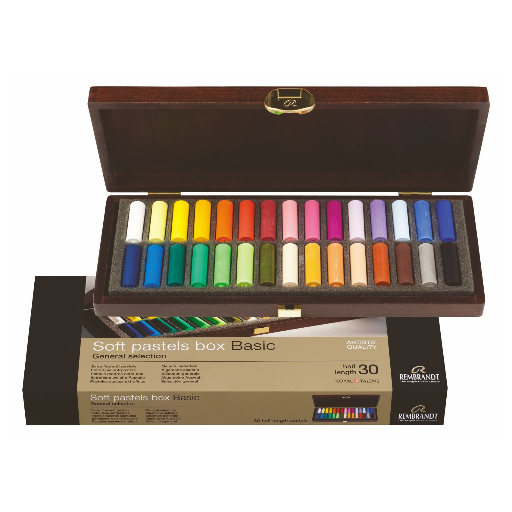 Royal Talens Rembrandts off pastels box set general selection