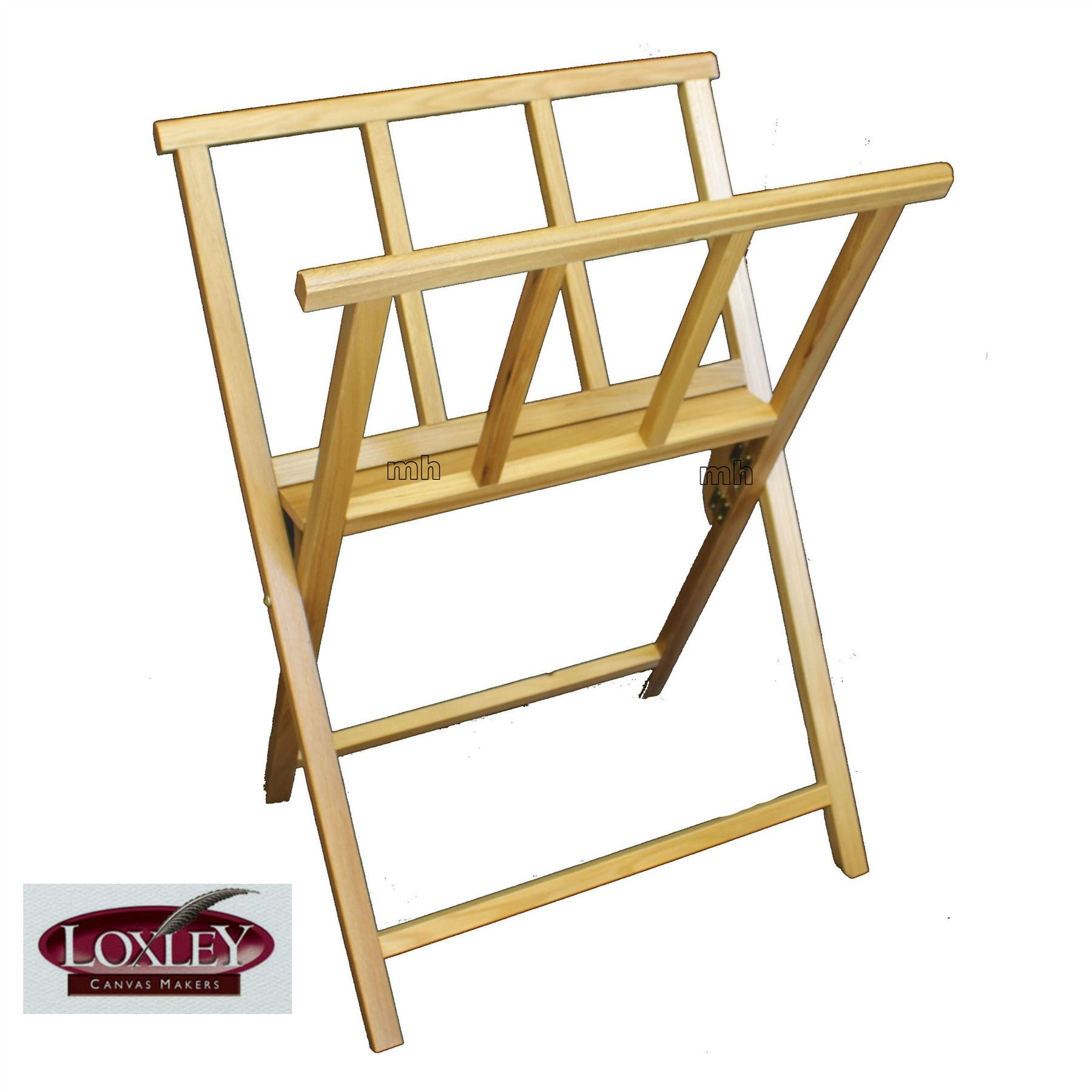 Loxley artist folding wooden storage rack