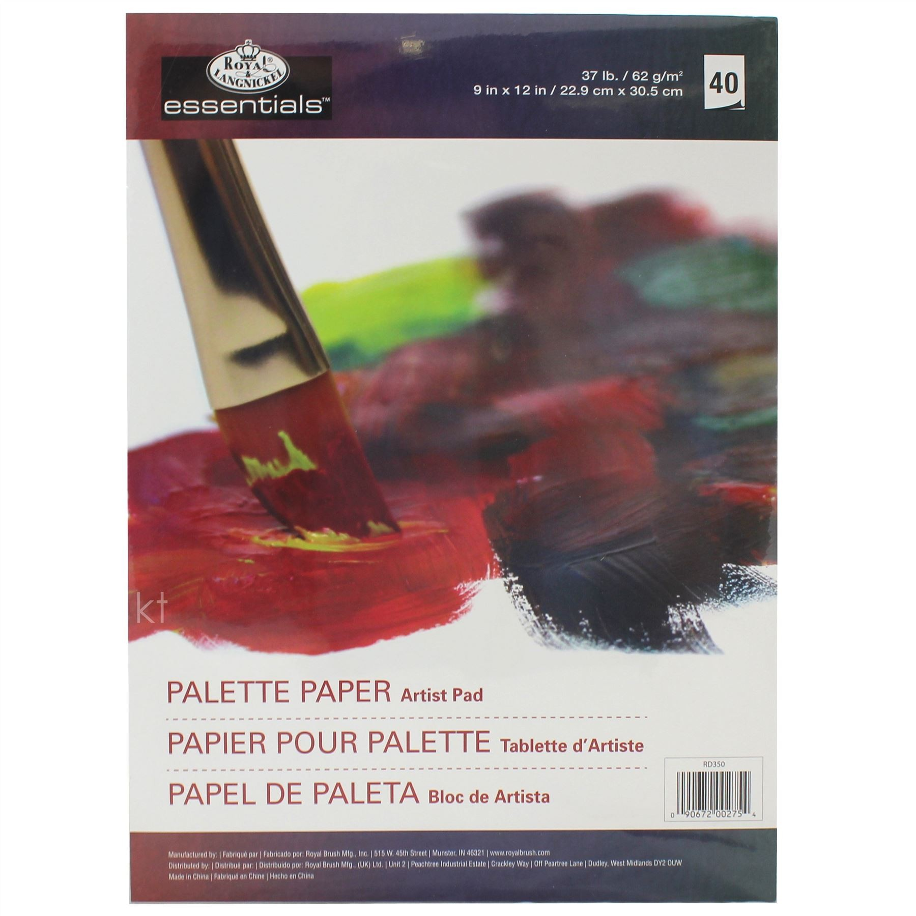 Disposable Palette Tear Off Paper Sheets