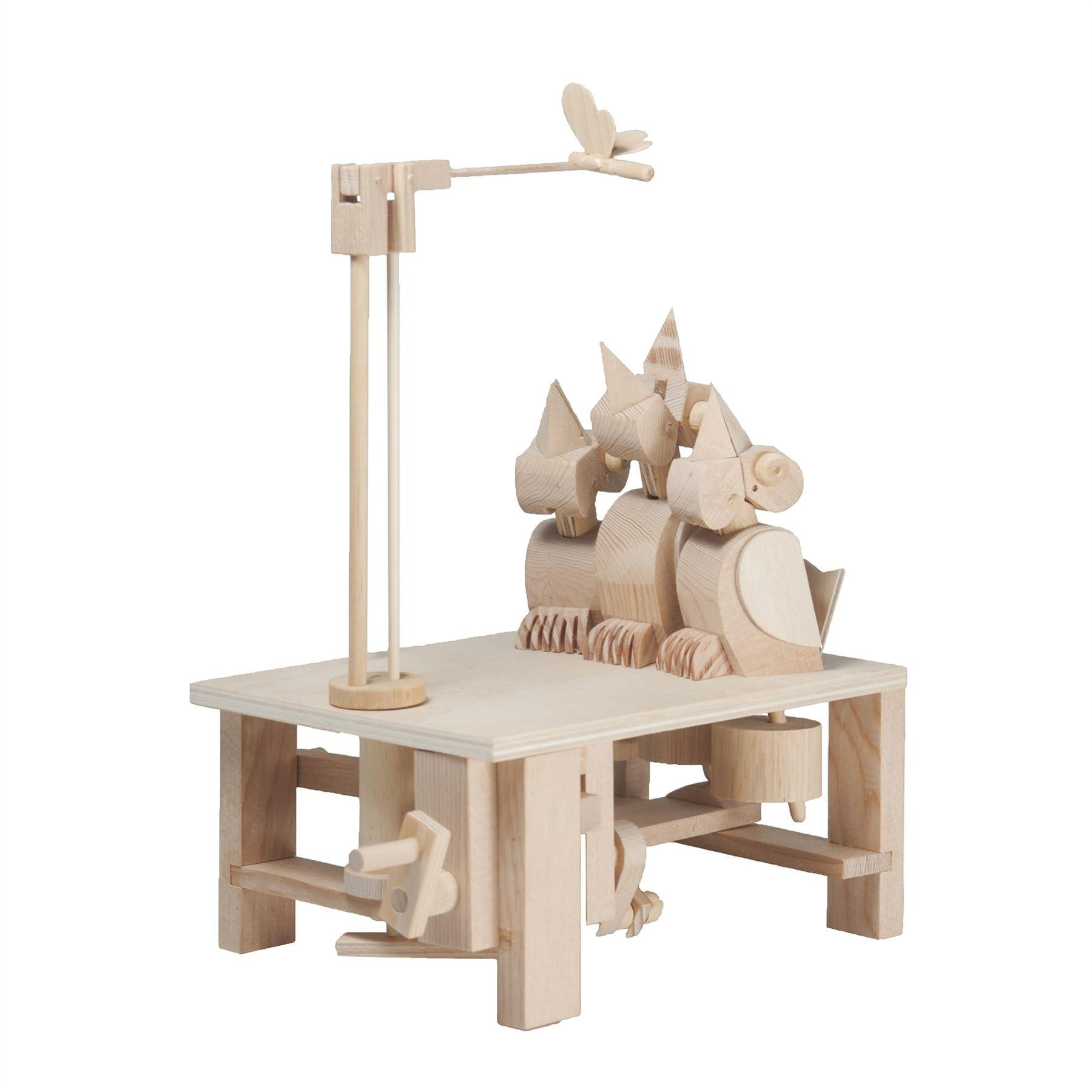 Timberkits Chirpy Chicks wooden model flatpack kit