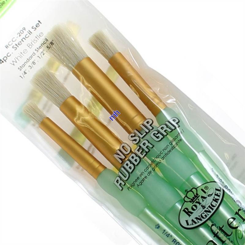 Royal & Langnickel stencil brush set RCC-209