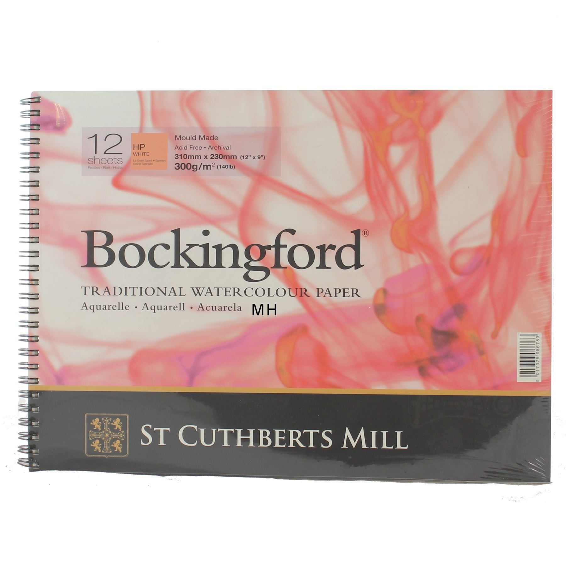 "Bockingford Watercolour Paper Pad 12"" x 9"""