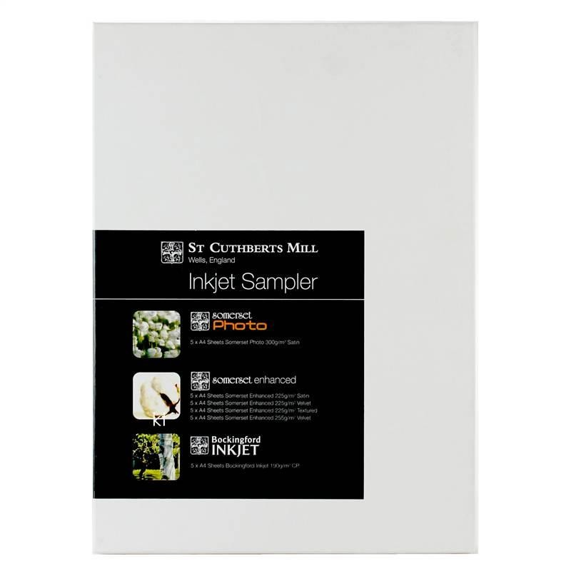 St Cuthberts Mill Inkjet Sampler Paper - 30 Sheets
