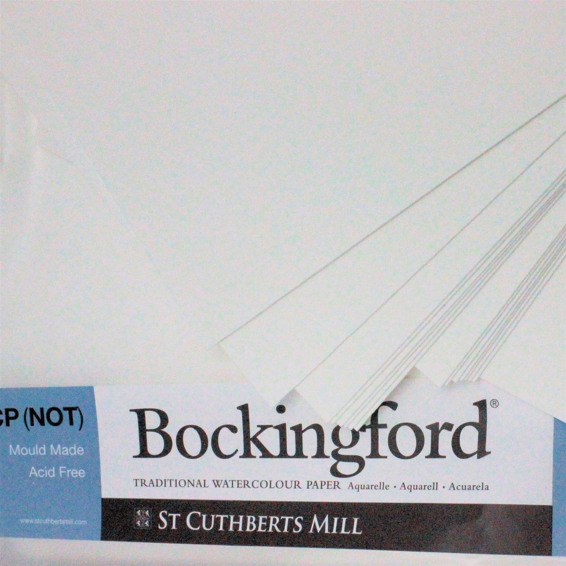 """Bockingford 2 sheets of 22"""" x 15"""" cold Press paper 300gsm (140lbs) watercolour Paper"""