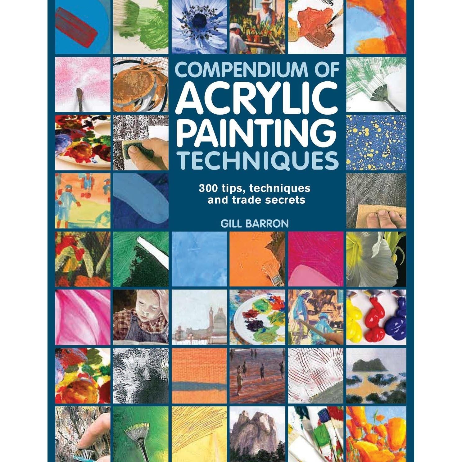 techniques for acrylic painting search press