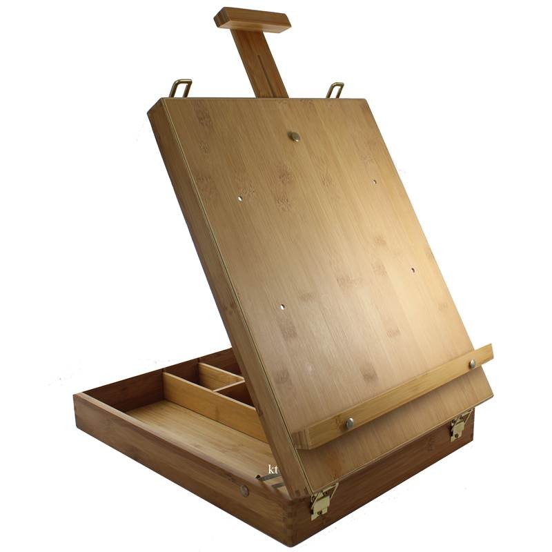 Loxley eco friendly table top storage easel